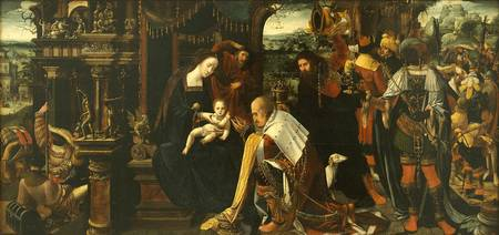 Antwerp Mannerist (Master of the Antwerp Adoration