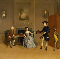 Arthur Devis~John Orde, His Wife Anne, and His Eld