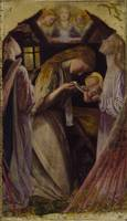 Arthur Hughes~The Nativity