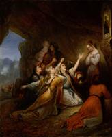 Ary Scheffer~Greek Women Imploring at the Virgin o