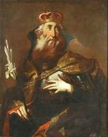 Austrian Painter~Saint Stephan the King