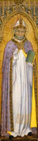 Bartolo, Taddeo di~Bishop Saint (Martin, or Gemini