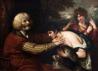 Benjamin West~Tobias Curing His Father's Blindness