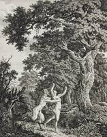 Carl Wilhelm Kolbe~Satyr Pursuing a Nymph