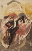 Charles Demuth~In Vaudeville (Dancer with Chorus)