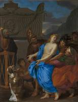 Charles Le Brun~The Sacrifice of Polyxena