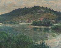 Claude Monet~Paisaje en Port-Villez