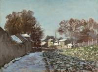 Claude Monet~Snow at Argenteuil (Neige à Argenteui