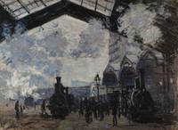 Claude Monet~The Gare St-Lazare