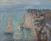 Claude Monet~The Rock Needle and the Porte d'Aval