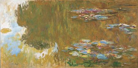 Claude Monet~The Water Lily Pond, c. 1917-19