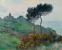 Claude Monet~Église de Varengeville, temps gris