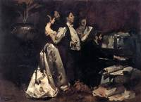 Columbano Bordalo Pinheiro~The amateur concert