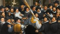 Cornelis van Haarlem~Banquet of Members of the Haa