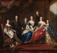 David Klöcker Ehrenstrahl~Charles XI's family with