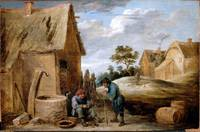 David Teniers the Younger~A Peasant eating Mussels