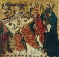 Diego de la Cruz~The Mass of Saint Gregory