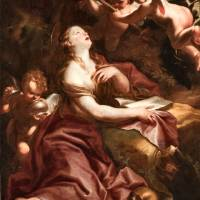 """Domenico Piola~Saint Mary Magdalene"" by Old_master"