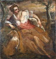 Domenico Tintoretto~Personification of Fidelity