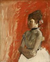 Edgar Degas~Ballet Dancer with Arms Crossed
