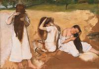 Edgar Dega~Women Combing Their Hair
