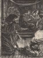 Edward Burne-Jones~The Parable of the Burning Pot