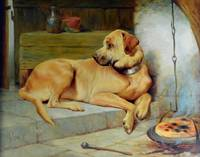Edwin James Douglas~The Yellow Labrador