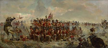 Elizabeth Thompson~The 28th Regiment at Quatre Bra