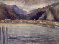 Emily Carr~Skagway from End of Wharf - Cold Wind -