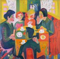Ernst Ludwig Kirchner~Coffee Table