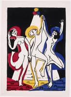 Ernst Ludwig Kirchner~Color Dance