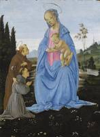 Filippino Lippi~The Apparition of the Virgin to a