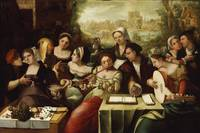 Flemish Painter~The Prodigal Son amidst the Whores