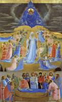 Fra Angelico~The Death and the Assumption of the V