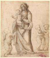 Fra Bartolomeo~Madonna and Child with the Infant S