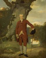 Francis Whitley~Portrait of a Man, Possibly Mr. Ba