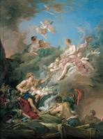 Francois Boucher~Venus at Vulcan's Forge