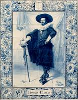 Frans Hals~Dutch Tile Picture after Franz Hals
