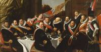 Frans Hals~Banquet of the Officers of the St Georg