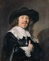 Frans Hals~Portrait of a gentleman