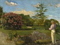 Frederic Bazille~The Little Gardener