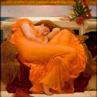 Frederic Leighton~Flaming June