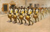 Frederic Remington~Drum Corps