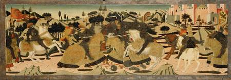 Giovanni di ser Giovanni Guidi~Battle Scene