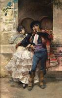 José García y Ramos~Dancing Couple