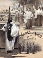 José García y Ramos~Palm Sunday in Seville
