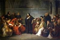 Karl Friedrich Lessing~Jan Hus at the Council of C