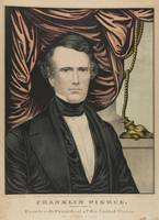 Nathaniel Currier~Lithograph, Franklin Pierce, Dem