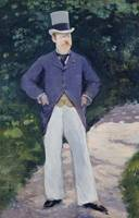 Édouard Manet~Portrait of Monsieur Brun