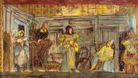 Édouard Vuillard~Design for a wall painting for th